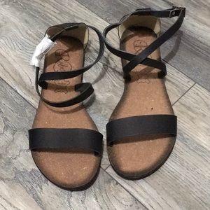 Modern Rebel- Genuine leather sandals, NWT.